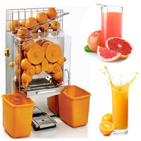 High efficiency 2000E 2 automatic orange juicer machine , commercial orange juice extractor , small citrus Juicer machine ZF
