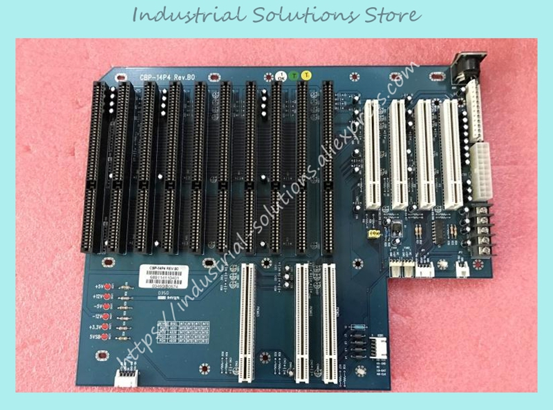 цена на IPC Board Base Plate CBP-14P4 REV.B0 10 Isa 4 PCI At Atx 100% tested perfect quality