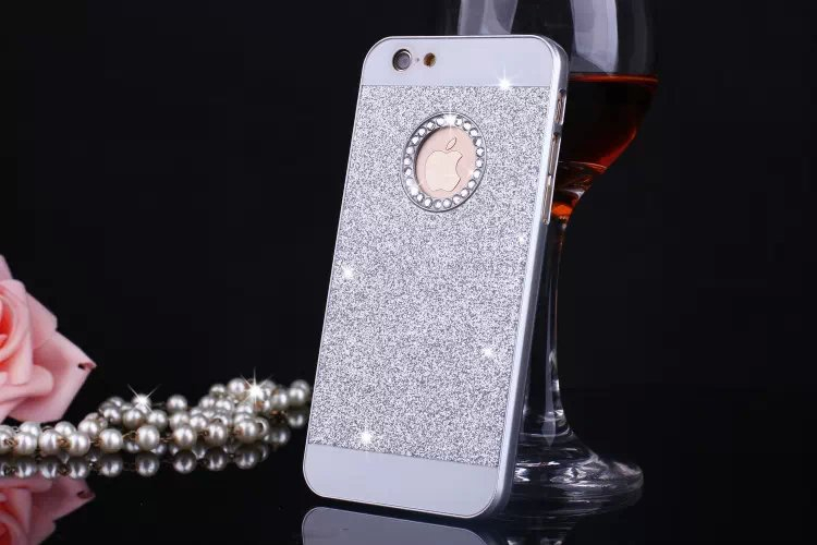 3a937df736a 2016 New Shinning Logo Window Back Cover Sparkling Phone Cases for iPhone 5  5S Luxury Flash Diamond Mobile Phone Bling Cases on Aliexpress.com