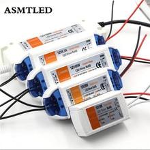 Практичный адаптер драйвера постоянного тока 12 18 Вт/28 Вт/48 Вт/72 Вт/100 Вт, трансформатор питания для светодиодной ленты 5050 3528 5630