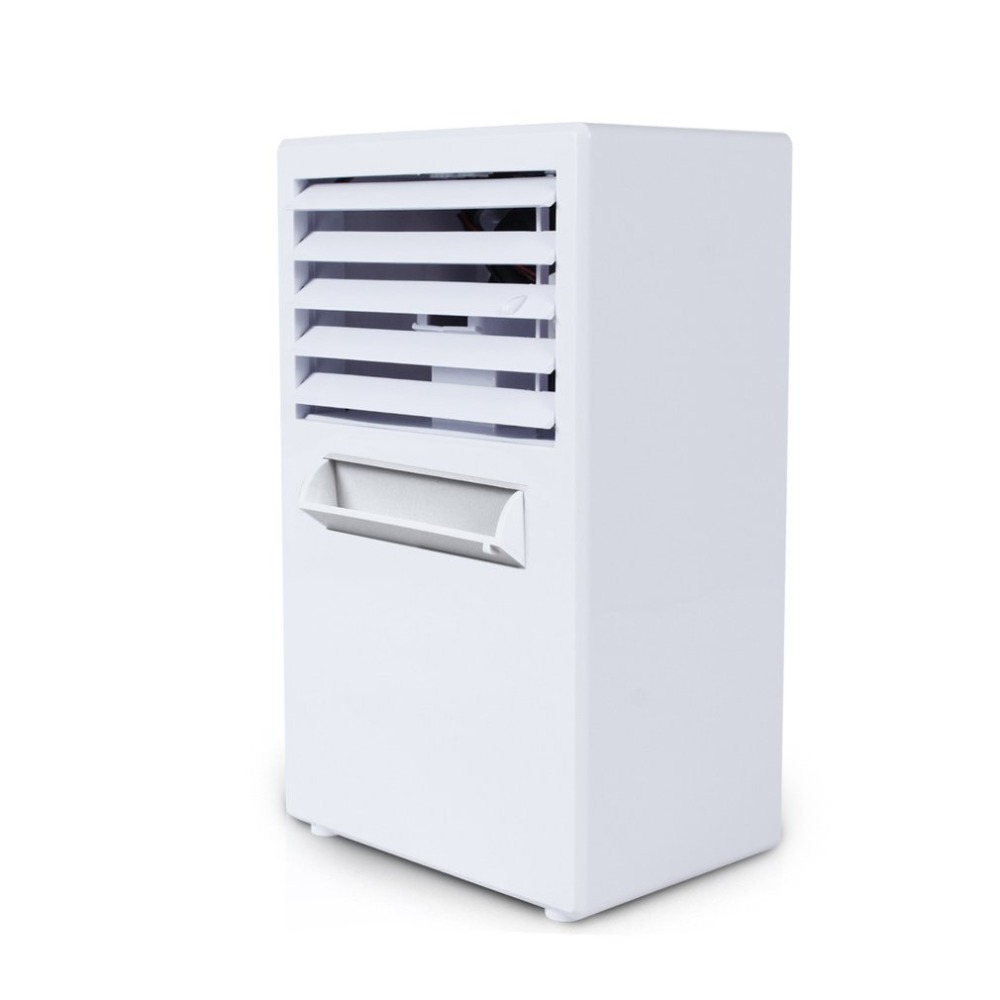 Mini Portable Air Conditioner Fan Personal Space Evaporative Air Cooler Swamp Cooling System Misting Humidifier