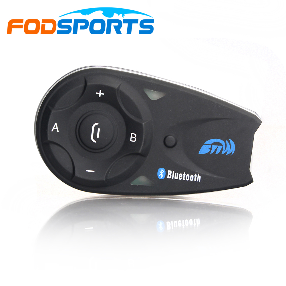Fodsports V5 5 riders 1200m motorcycle helmet bluetoot intercom headset moto intercomunicador with FM lexin 2pcs max2 motorcycle bluetooth helmet intercommunicador wireless bt moto waterproof interphone intercom headsets