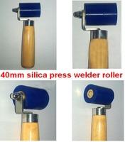 Free Shipping 40mm Silica Gel Presssure Welder Roller Pinch Roller For Handheld Hot Air Gun Heat
