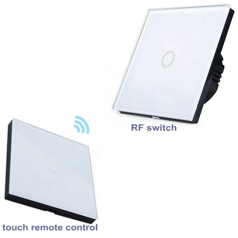 EU Standard remote control light switch wall sticker controller RF433mhz crystal glass panel transmitterEU Standard remote control light switch wall sticker controller RF433mhz crystal glass panel transmitter
