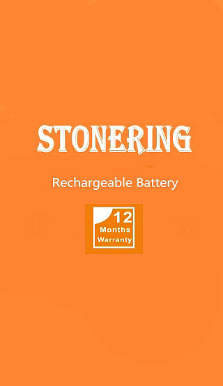 Stonering  4150mah Backup Battery Replacement for CUBOT Dinosaur cell Phone