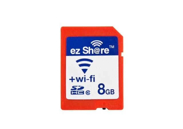 Эз-share WI-FI ПОДЕЛИТЬСЯ SD Card 8 ГБ CLASS 10 SDHC ФЛЭШ-КАРТЫ ПАМЯТИ sd 8 ГБ EYE-FI