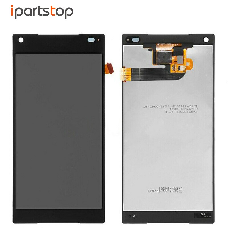 iPartsTop Original LCD Screen Display With Touch Digitizer Assembly For Sony Xperia Z5 Mini Compact E5803 E5823 Black White 100% original lcd display black touch screen digitizer assembly for sony xperia z3 mini compact d5803 d5833 with tools