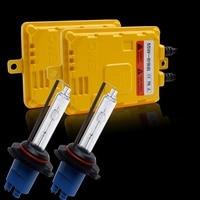 55W Fast Bright HID Xenon Conversion Kit H1 H7 H3 HB3 HB4 Single Beam Xenon Kit