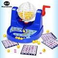 Choque joke toy engraçado máquina de jogo de bingo ernie loteria máquina Desktop Brinquedos Para Crianças de Puzzle divertido O Gadget De Comédia interior