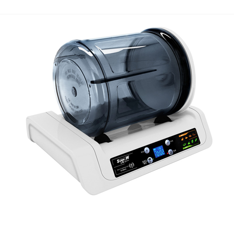 220V Household Electric Vacuum Food Marinator Tumbling Machine LCD Inteliigent Automatic Commercial Hamburger Pickling Machine 7l electric vacuum food pickling machine household 2018 vacuum food marinated machine commercial meat fried chicken marinator