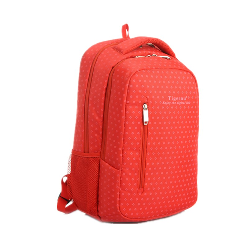 Casual fashion 15.4 inch Laptop Backpack Travel Bag for Girls Printed Students Bag Notebook Shoulder Bags