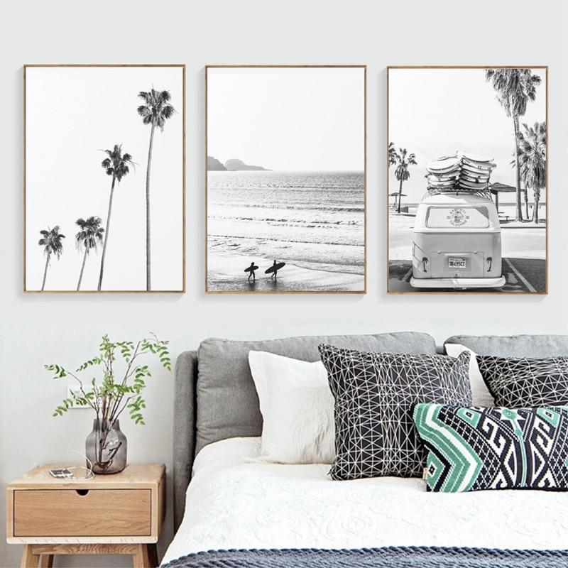 Surf Canvas Art Poster Home Decor