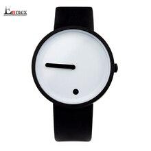 2017 regalo Enmex color fresco estilo Minimalista reloj de Puntos y Líneas de diseño creativo con estilo simple con reloj de cuarzo de moda