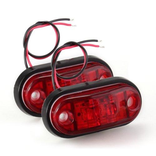 Toyl 2 * Bombilla светодиодный lmfor Luz боковой Рохо piraa для Кош камионс