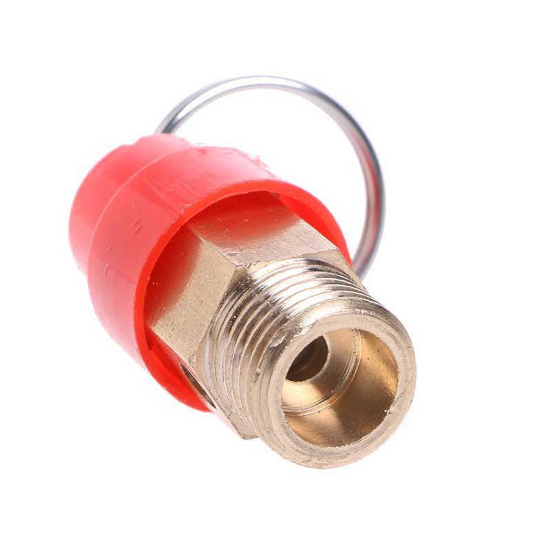 ¡Oferta! Válvula de seguridad de compresor de aire BSP de 1/4 ''10KG, regulador de alivio de presión