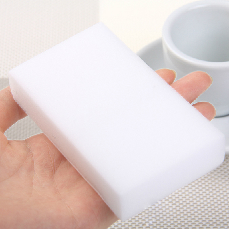 50pcs White Magic Sponge Eraser Melamine Cleaner Multi Functional Kitchen Bathroom Cleaning Tools Nano Sponge New Arrival in Cleaning Cloths from Home Garden