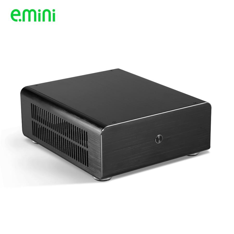 Brand mini itx pc case for personalized computer PC aluminum transparent