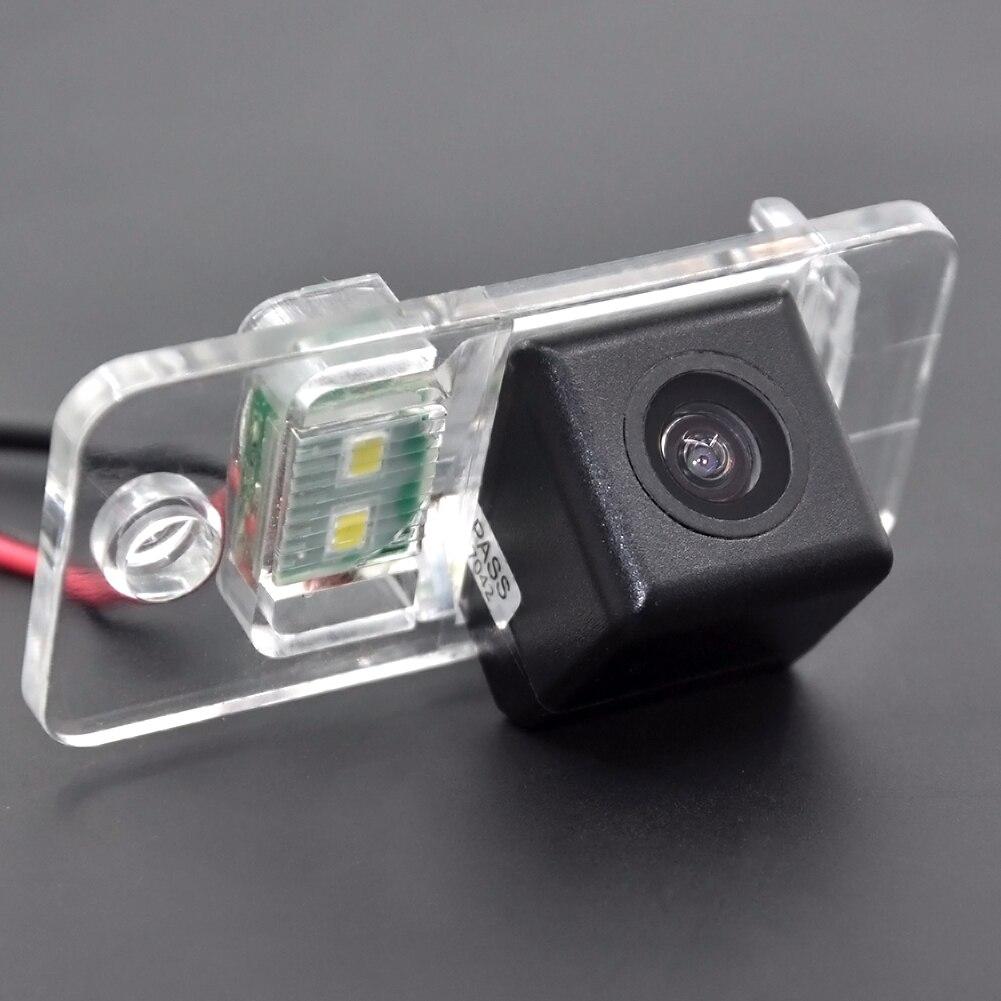 CCD HD 4 LEDS Auto rückfahrkamera für Audi A8 A6 A4 A3 Q7 S5 S6 S8 RS4 RS6 A4L/Q5/A5/TT/TTS backup draht drahtlose