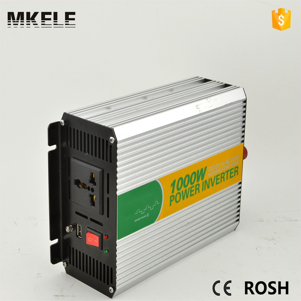 ФОТО MKM1000-121G off-grid modified sine wave universal use of inverter power inverter 12v 110vac 1000w power inverter for sale