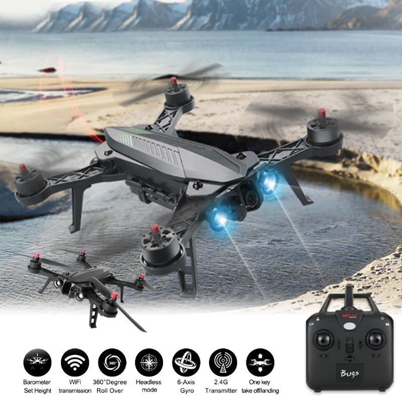 MJX Bugs B6 Racing RC Quadcopter Mini Drone with Camera 2MP RC Quadrocopter Helicopter Aircraft FPV Drone Real-Time Image RTF mjx bugs b6 racing rc quadcopter mini drone with camera 2mp rc quadrocopter helicopter aircraft fpv drone real time image rtf