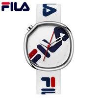 Fila Спорт Кварцевые часы Топ бренд высокое качество Повседневное простой Стиль силиконовый ремешок Для женщин Для мужчин Любители наручные