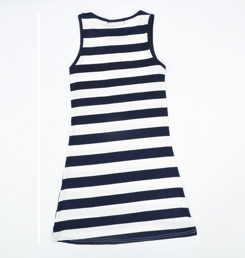 D'été Filles Designer Bébé Mode Bande Robe Marine New fwwZz1