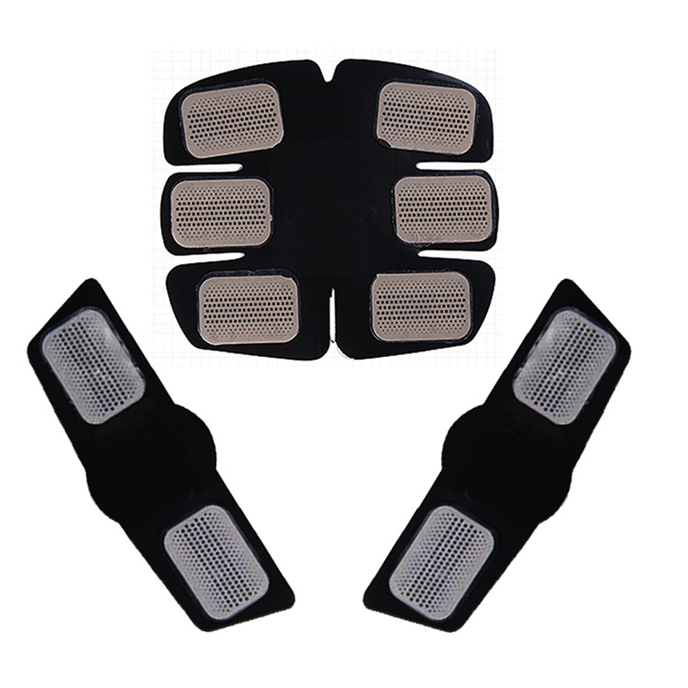 Muscle Massager Training Body Shape Fitness Set ABS Six Pad Abdominal electric muscle stimulator Massager Sticker Abdominalizer in Ab Rollers from Sports Entertainment