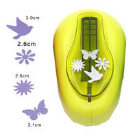 4 patterns extra large butterfly paper punch scrapbooking Paper Creative Craft Hole Punch Embossing