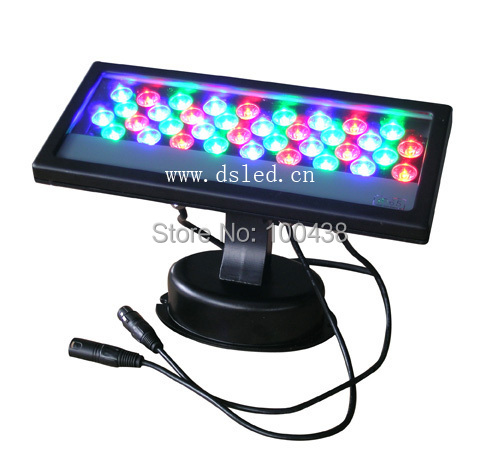 CE,2-Year warranty,high power 36W DMX LED RGB wall washer, DMX LED wall washer,IP65,110-250VAC,DS-T03-36W-RGB-DMX, ip65 ce good quality high power 36w rgb led wall washer rgb led wash light 12 3w rgb 3in1 24vdc ds t21a 36w rgb 50cm pc