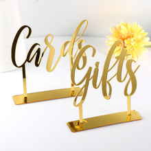 wedding sign acrylic Cards and Gifts Table Sign Freestanding Calligraphy Personalized Wedding Laser Cut Signs Custom