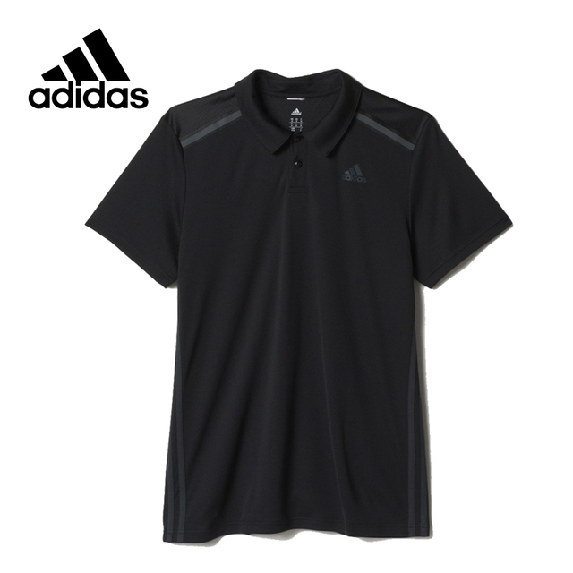 official photos 98477 5e3f9 US $73.5 25% OFF Original New Arrival Official Adidas Climacool Men's Shirt  Short Sleeve Breathable White Black Sportswear-in Skateboarding T-Shirts ...