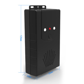 MOOL Ultrasonic Repeller Garden Car Hood Rodent Pest Repulsion Electronic Pest Repeller Black (Battery Version) Pc