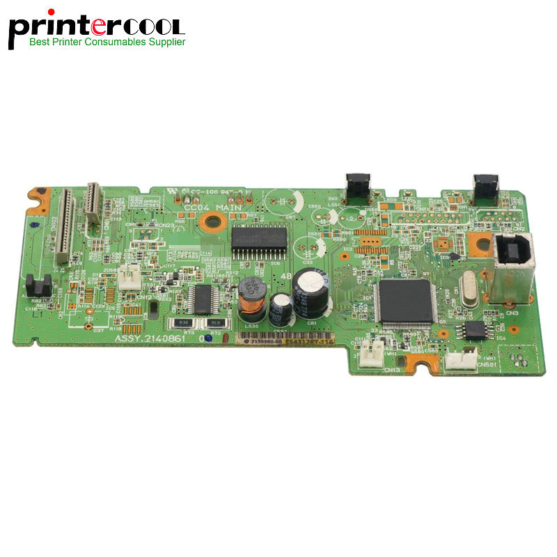 1pc 95% New Main board Formatter Board for Epson L365 L366 printer Logic Mother Board bulk price 5 pieces lots pt093 logic board for canon l100 l150 formatter board original and new officejet printer parts