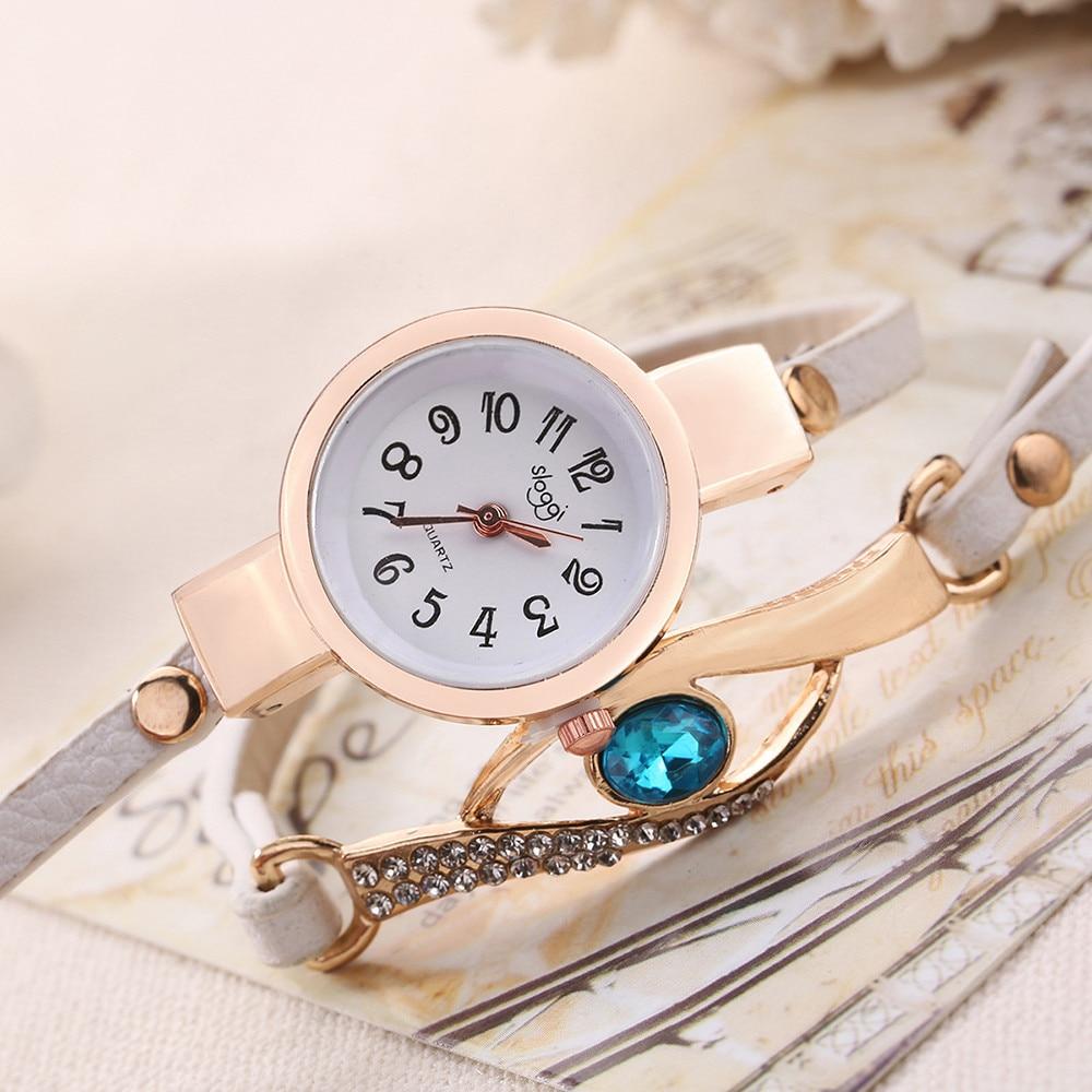 Модные женские ретро павлин браслет Сапфир моделирование кварцевые часы Relojes де Mujer женские часы Подарочные часы 9.21