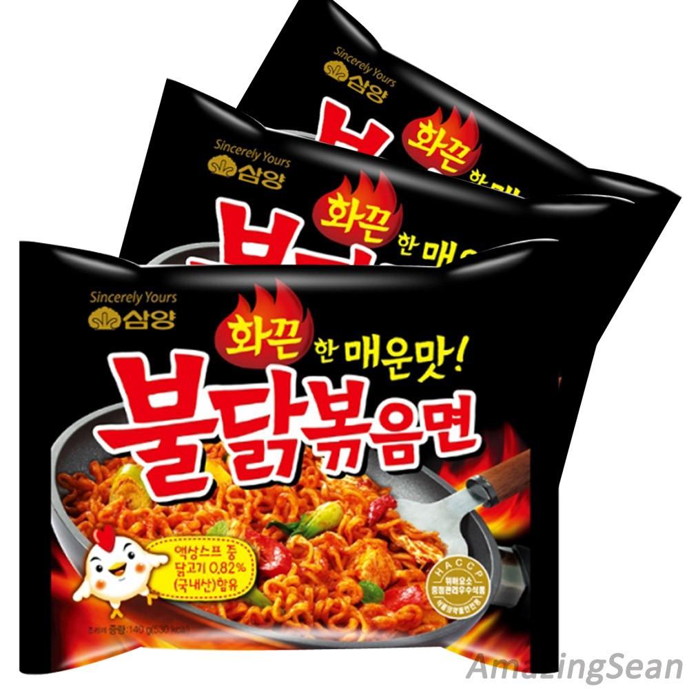 Супер острые куриные лапша корейской лапши buldakbokeum ramyun рамен 9pcs