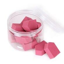 10pcs New Baby Pink Sponge Makeup/Cosmetics Blender - Ultra-Soft Latex-Free Beauty Makeup Applicator for Foundation Blush Powder