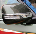 Chrome Cubierta Del Espejo Lateral de visión Trasera Recorta Para Toyota Land Cruiser Prado FJ 150 Accesorios
