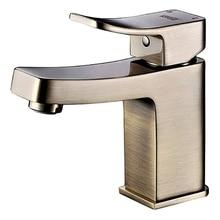 Смеситель для умывальника WasserKRAFT Exter 1603 (Керамический картридж, гибкая подводка G1/2, латунь, покрытие «светлая бронза»)