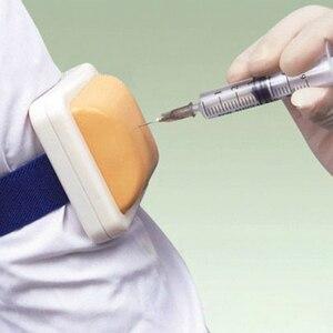 Image 4 - ممرضة معدات التدريب حقن أجهزة التمارين الرياضية ممرضة ممارسة قطعة تنظيفٍ إسفنجية الأنسولين ممارسة وسادة التدريس الطبي