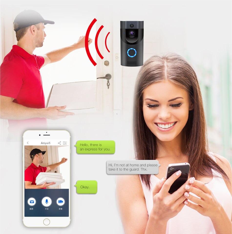 wired video doorbell