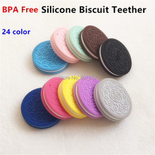 Jewelry Accessories - Fashion Jewelry - 10PCS BPA Free Silicone Cookie Pendant Teether Baby Biscuit Pacifier Dummy Teething Chewable Pendant Nursing Necklace Jewelry