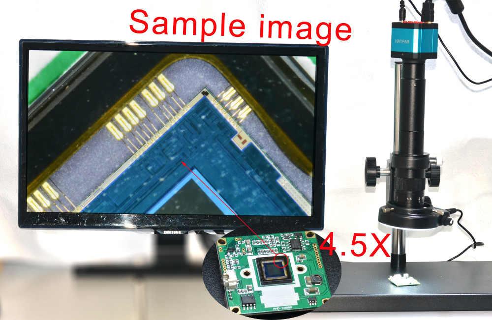 Big Heavy Duty โลหะ Boom สเตอริโอกล้องจุลทรรศน์กล้องขาตั้งผู้ถือแหวน 50mm + 300X Zoon C - mount เลนส์