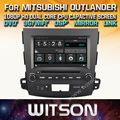 WITSON CAR DVD GPS For MITSUBISHI OUTLANDER with Capctive Screen+1080P+DSP+WiFi+3G+DVR+Good Price+GIFT+Free shipping