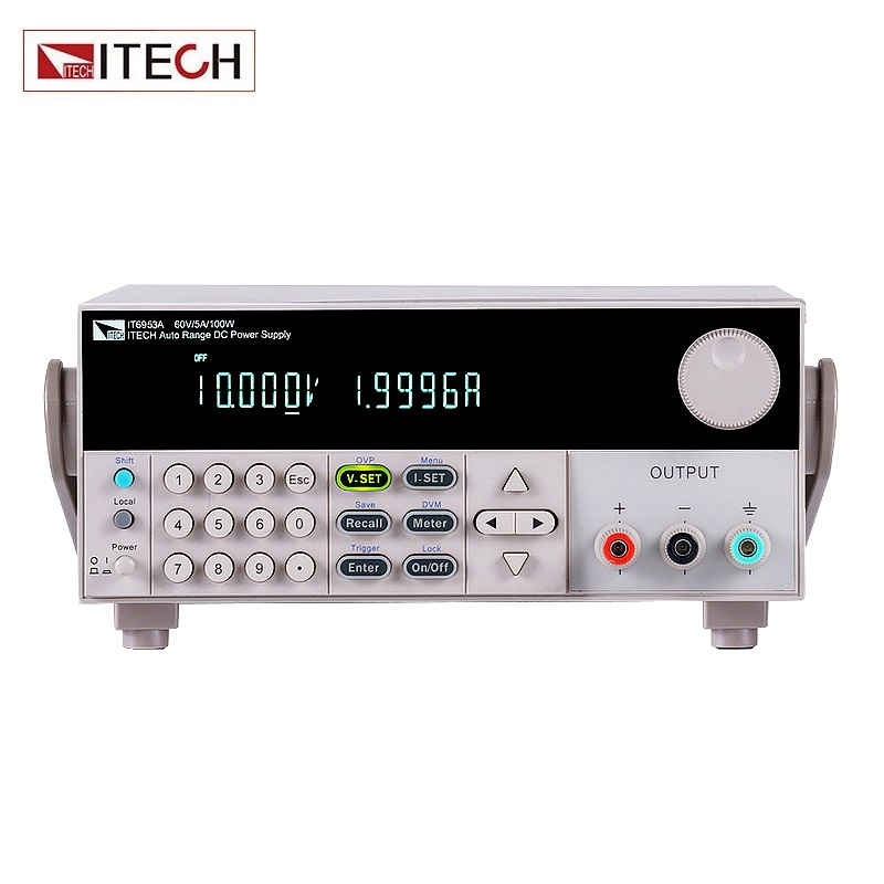 ITECH IT6953A High-Accuracy & Resolution 1mV/0.1mA DC Power Supply Output 0-150V 0-10A 600W USB itech plb4 для 32 55
