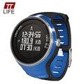 TTLIFE Марка Открытый Спорт Смарт Часы Цифровой GPS Работает Женский Многофункциональный 5ATM Водонепроницаемый Спортивные Часы для Женщин 2016