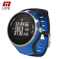 TTLIFE Marca Deportes Al Aire Libre Relojes Inteligentes Digital GPS Running Mujer Multifuncional Resistente Al Agua 5ATM Reloj Deportivo para Mujeres 2016