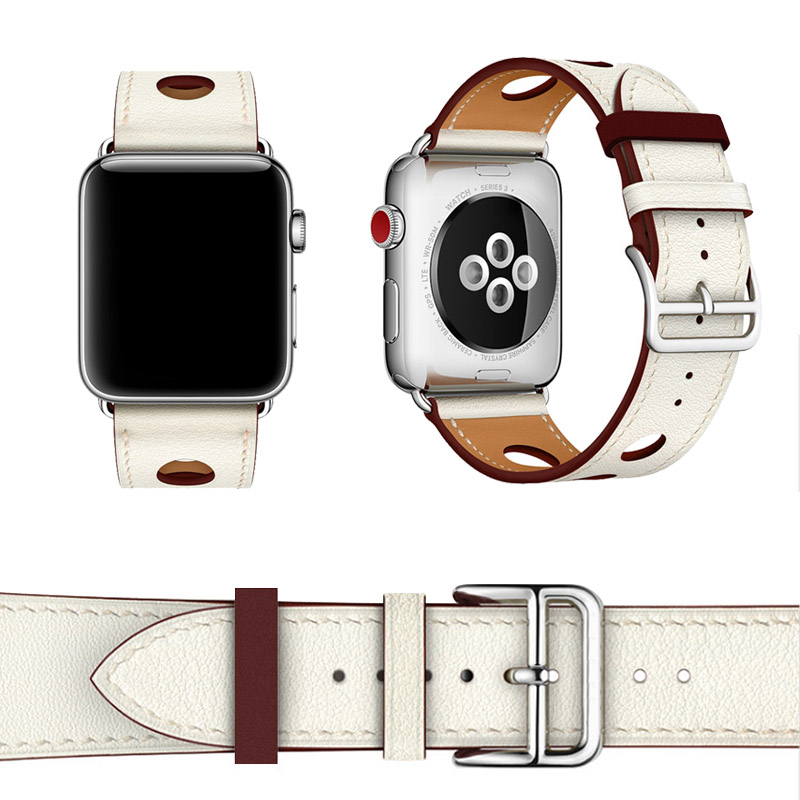 1 apple series 1 2 3 Leather Strap (10)