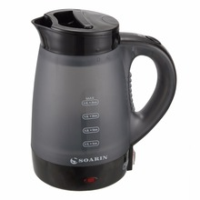 2 in 600W Portable Electric Kettle Ektexine Mark Quick Heating Safety Auto-Off Function With EU Plug Steamer Brush