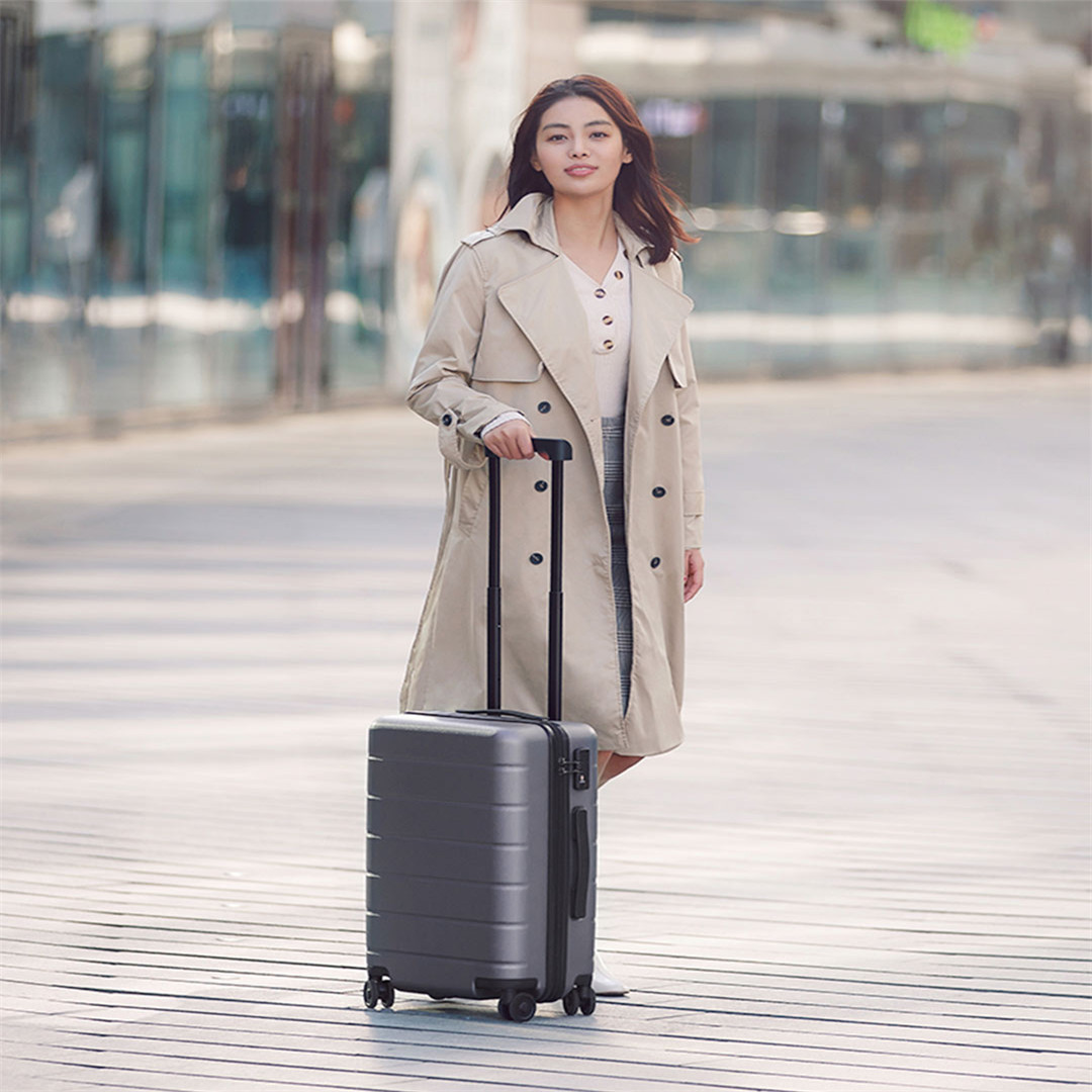 90FUN PC Suitcase Carry on Spinner Wheels Rolling Luggage TSA lock Business Travel Luggage for Women men