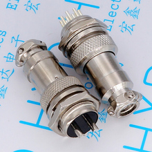 GX16 aviation plug diameter 16 mm connector male female pairs sell 2 p / 3/4/5 6/7/8/9 core